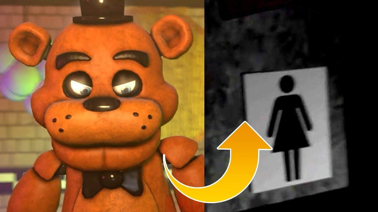 Freddy, WRONG RESTROOM!