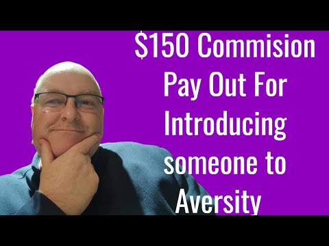 Aversity Gold Masterclass Aversity affiliate program my first $155 Sale