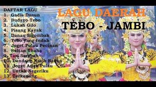 Gambar cover Lagu Pilihan Daerah Tebo - Jambi