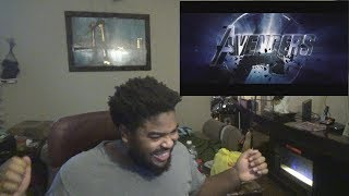 AVENGERS 4 ENDGAME Official Trailer Reaction