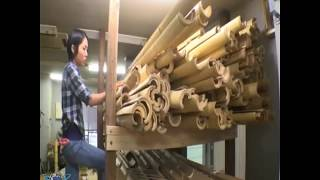 видео Бамбуковый забор