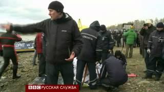 В Челябинской области подняли метеорит со дна озера Чебаркуль(Работа закипела с раннего утра. Водолазы готовят оборудование и экипировку. Температура воздуха на берегу..., 2013-10-17T07:23:37.000Z)