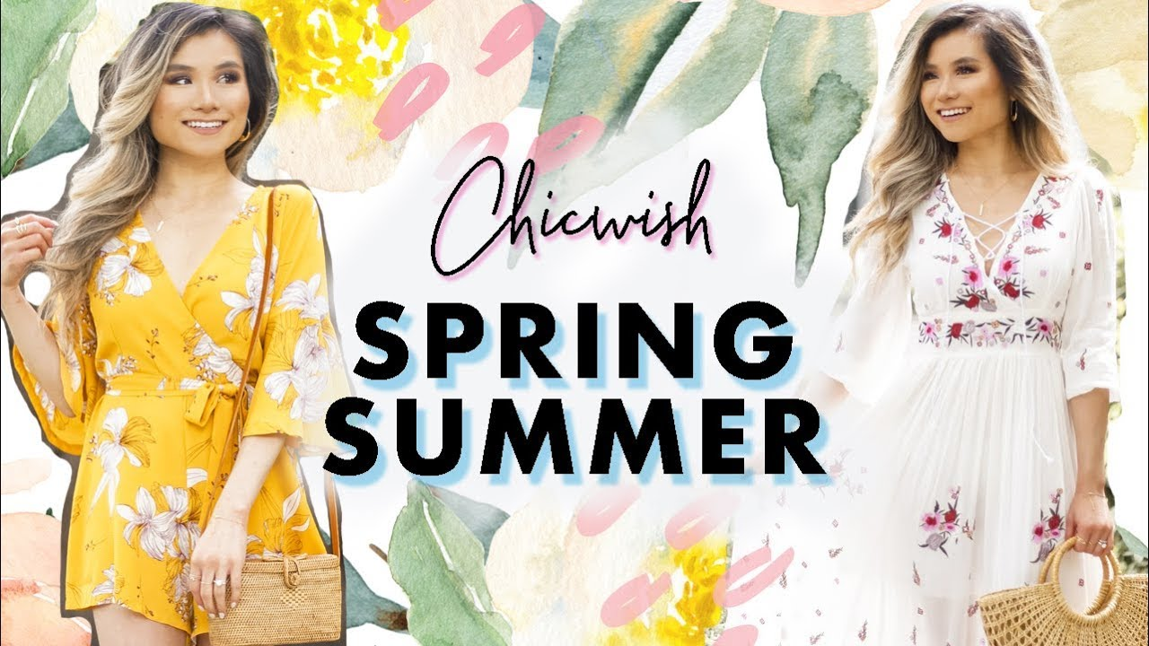 Spring - Summer Fashion Lookbook w/ Chicwish | Summer Outfit Ideas Chicwish Haul | Miss Louie