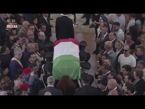 Carabiniere ucciso, i funerali di Mario Cerciello Rega a Somma Vesuviana