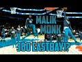 MALIK MONK 360 EASTBAY IN WARM UPS ATTEMPT!!!