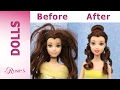 Beauty and The Beast: Belle's Makeover Part 1- Hair Repair