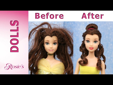 Thumbnail: Beauty and The Beast: Belle's Makeover Part 1- Hair Repair