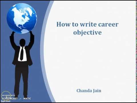Career Objective For Fresher Samples And Examples