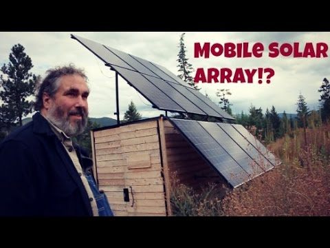 Using Solar Panels for Off Grid Home Building