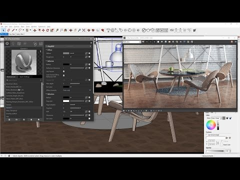 V-Ray For SketchUp – Quick Start: Materials