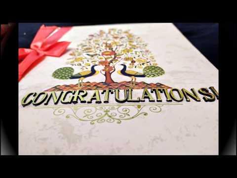 #Handmade #Greetings.                    |Beautiful WEDDING CARD | Mini Scrapbook | HANDMADE Cards||