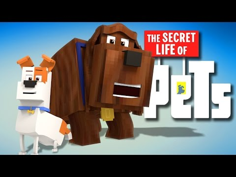 Minecraft Parody - SECRET LIFE OF PETS! - (Minecraft Animation)