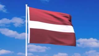 ラトビア共和国の国旗