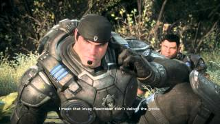 Gears of War Ultimate Edition - Act III Tip Of The Iceberg: Fire Resonator Didn't Work Cutscene XB1