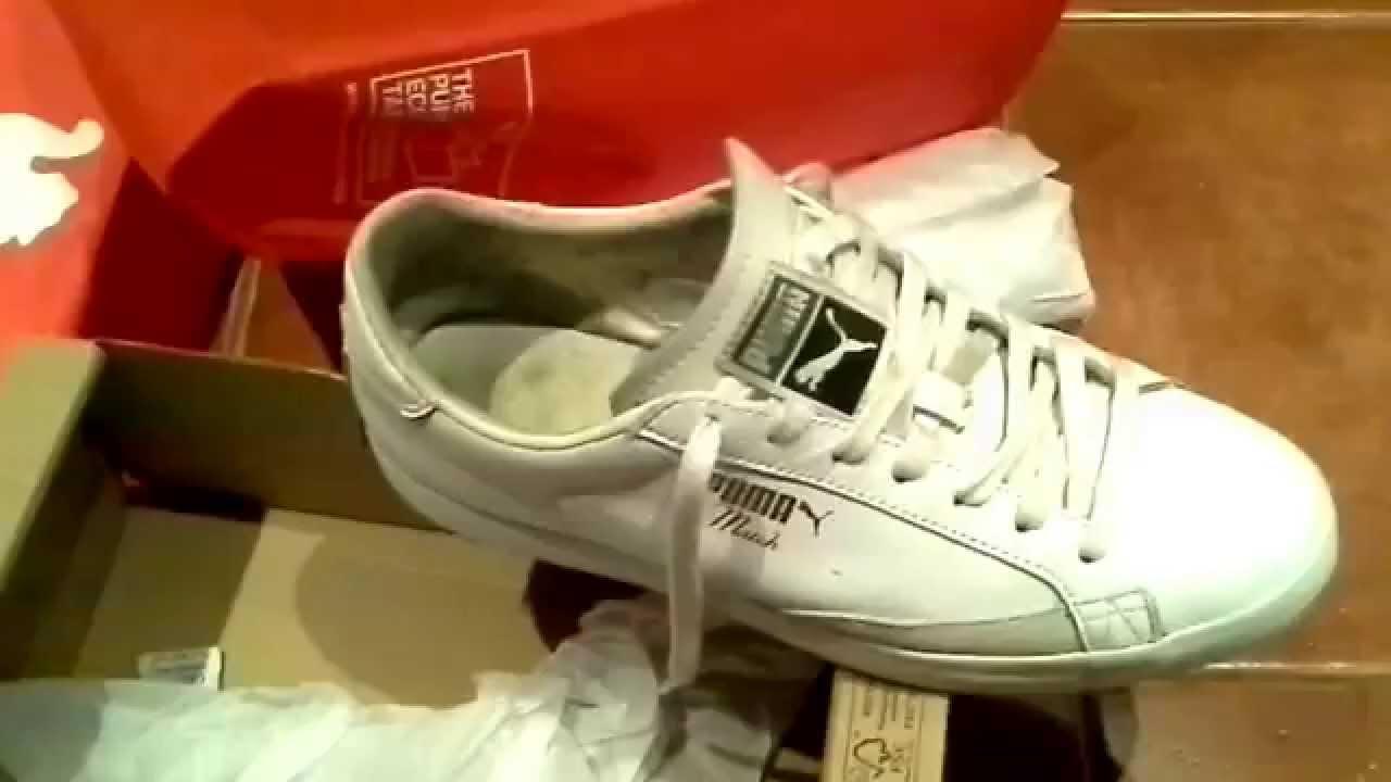 999fd6ea3b86 Мои кроссовки.Puma.Match.Б.У. - YouTube