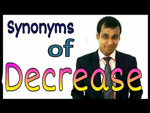 Vocabulary Delopment: Decrease Synonyms || How to improve Vocabulary || How to develop word power