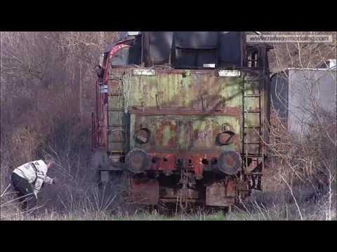 Bulgarian State Railways - Steam Engine 46.03 type 1-6-2