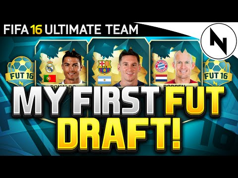 OMFG RONALDO! - FIFA 16 Ultimate Team FUT DRAFT! (MY FIRST FUT DRAFT)