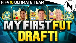 OMFG RONALDO! - FIFA 16 Ultimate Team FUT DRAFT! (MY FIRST FUT DRAFT)