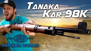 A Classic Reinvented - Tanaka Kar 98K Bolt Action Rifle - RedWolf Airsoft RWTV