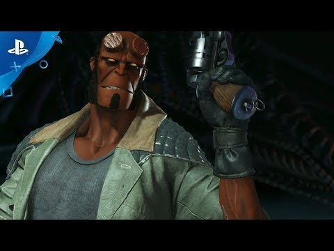 Injustice 2 Introducing Hellboy Ps4 Youtube