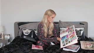 Paris Hilton Opens Fan Mail