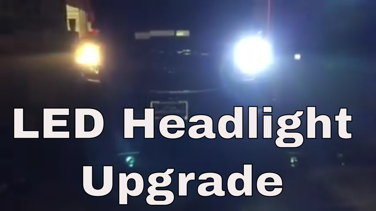 Diy 2017 2018 Chevy Tahoe Led Headlight Install