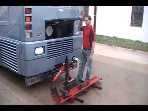 Mighty Hauler 1000C Motorcycle Carrier - YouTube