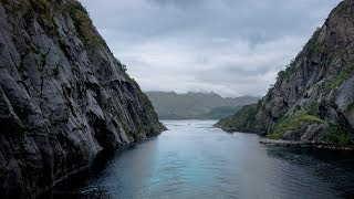 Downsizing with Matt Damon was filmed at this wonderful spot: Trollfjord in Norway