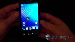 CyanogenMod 9 ICS on the Samsung Epic 4G!