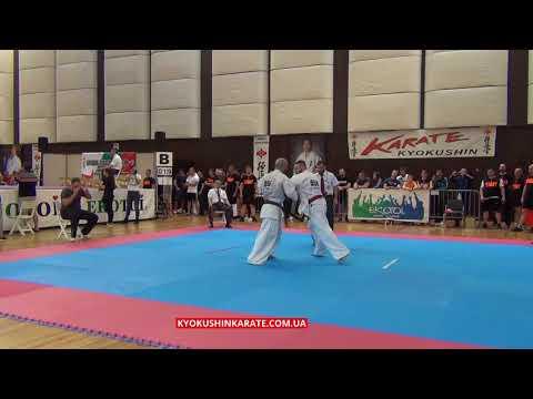 -80 1/4 Paco Zapata (Spain) - Ashot Zarinyan (Russia, aka) - The 32nd European Championship