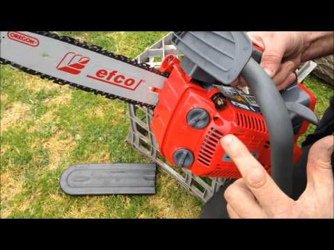 Efco chainsaw review Italian Made Arborist Chainsaw