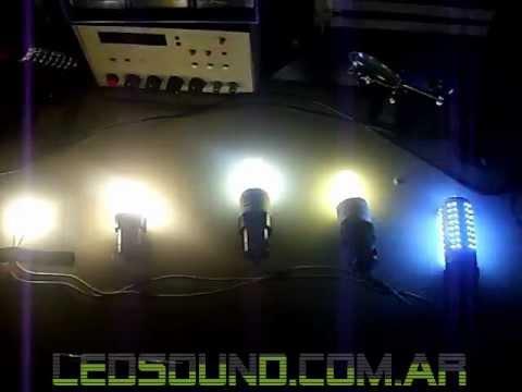 Proyectosled 8 comparativo led incandescentes halogenas y bajo consumo youtube - Halogenos led bajo consumo ...