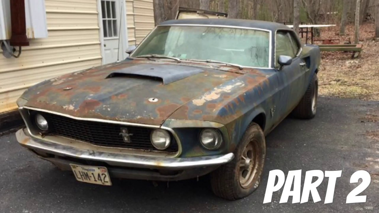 Mustang Mach 2 >> 1969 Mustang Mach 1 Restoration Part 2