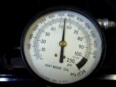 How to check a 4 bar(58 psi) pressure regulator