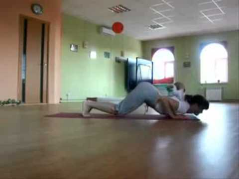 Yoga Cat (Cat Joins in Yoga Session!)