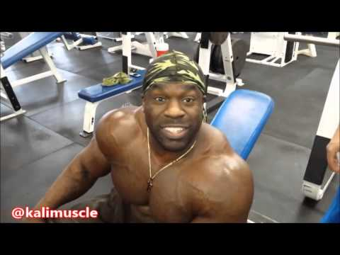 Thumbnail: Kali Muscle: CRAZY CHEST TRAINING (**REAL OR FAKE WEIGHTS**)