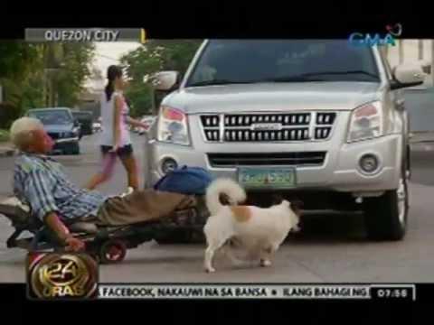 24 Oras: Aso, kaagapay ng kanyang paralisadong amo