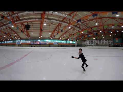 Figure Skating in 360: Stunning performance by European champ Evgenia Medvedeva