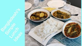 Let's Cook With Me|Bangladeshi Simple Lunch Ideas 2018| Bangladeshi Mum Uk