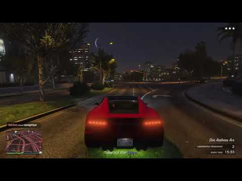 Grand Theft Auto V Free roam keep getting pulled up on