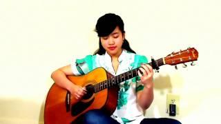 (Quang Vinh) Miền Cát Trắng (Cover: Virginia Nguyen - Bé Mẫn) guitar solo