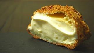 フランスではスウェーデン風シュークリーム、クッキーシューでございま...