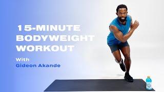 Entraînement intense de 15 minutes au poids du corps inspiré par Usain Bolt