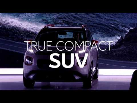 De Nieuwe Citroën C3 Aircross Compact SUV - Best of persconferentie