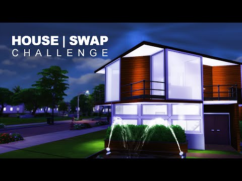 The Sims 4 House Swap Challenge w/ TheSimSupply