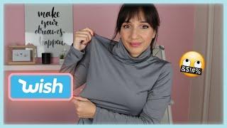 Δοκιμάζω οικονομικά ρούχα από το Wish | Marianna Grfld