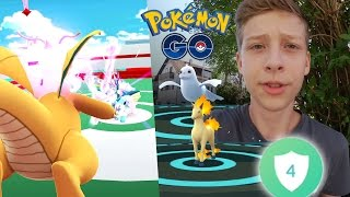 4 Arenen einnehmen + Gallopa & Jugong Entwicklung • Pokemon Go deutsch