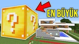 DÜNYANIN EN BÜYÜK ŞANS BLOKLARI CHALLENGE - Minecraft
