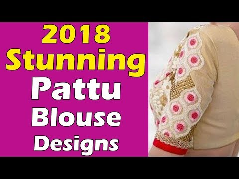 Gorgeous Look in this Blouse Designs | 2018 Blouse Designs Collection | Fashion World SAREE DRAPING